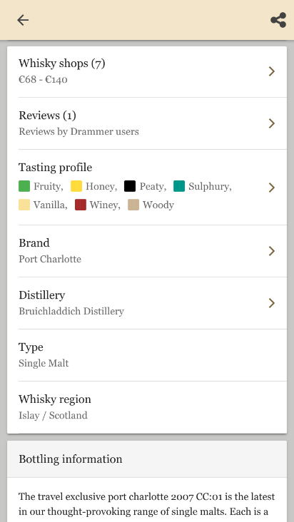 whisky pagina details